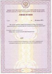 Лицензия на погрузочно-разгрузочную деятельность